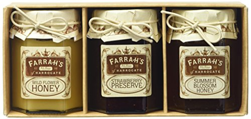 Farrah's of Harrogate Trio Honey and Preserve Selection Gift Pack from Farrah's of Harrogate