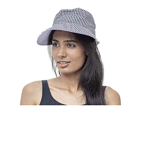 Fashy Women's Shield Cap - Black/White from Fashy