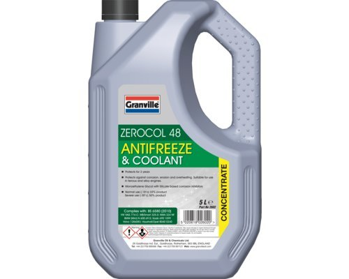 5L Zerocol 48 Green Antifreeze & Summer Coolant from Fastcar