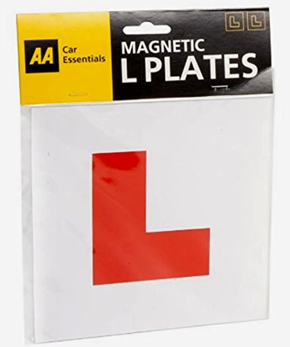 PAIR OF **GENUINE** AA FULLY MAGNETIC L PLATES from Fastcar