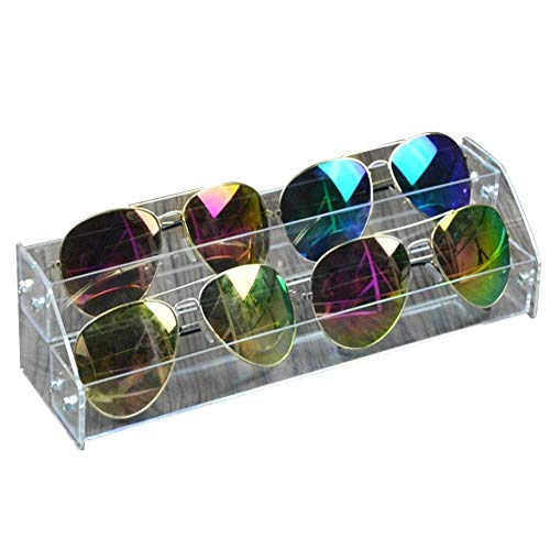 Fdit Acrylic Sunglasses Display Case for Multiple Layers Two Layers from Fdit