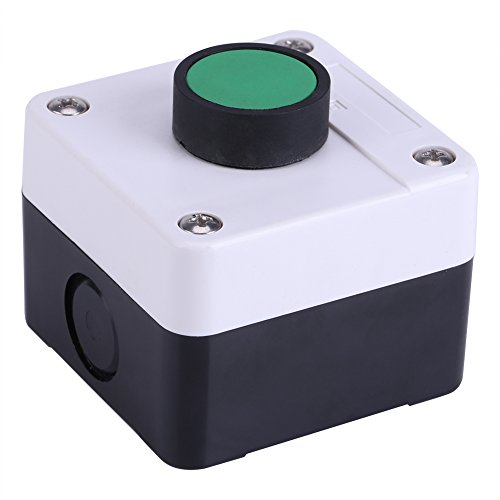 Fdit Weatherproof Green Push Button Switch One Button Control Box Push Button Switch Station Box for Gate Opener from Fdit