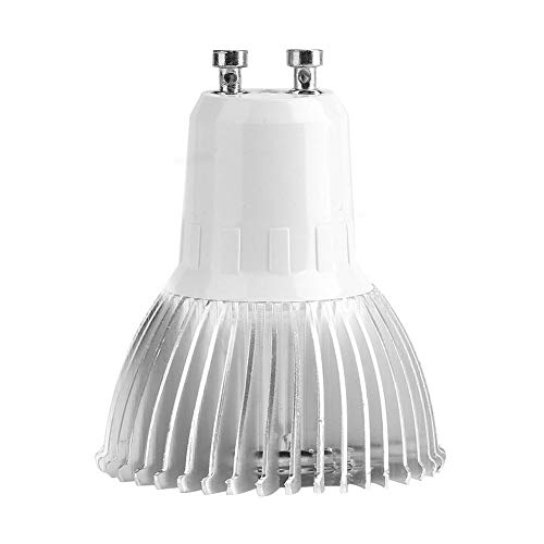 Grow Light Bulb, 18W 85-265V 18 LED Full Spectrum E27/E14 /GU10 Plant Bulb for Greenhouse Garden (GU10) from Fdit