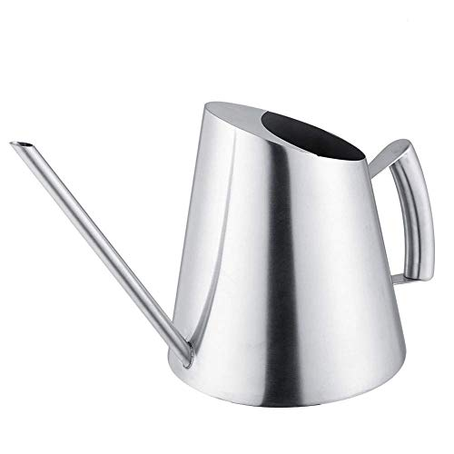 Stainless Steel Watering Can Pot Indoor House Plants Long Spout Watering Can Modern Style Watering Pot 51 oz /1.5 L from Fdit
