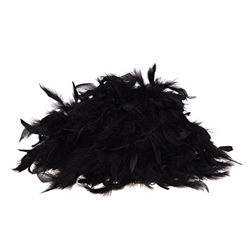Feather boa - black - great for hen and stag nights by Feather boas from Feather boas
