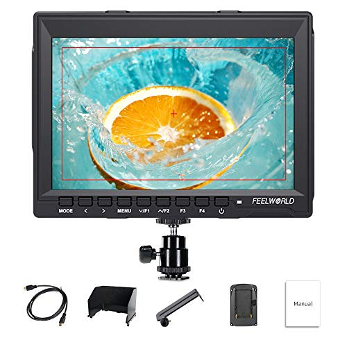 Feelworld FW759 7 Inch On Camera DSLR Field Monitor Full HD Focus Video Assist 1280x800 IPS With 4K HDMI Input Output from Feelworld
