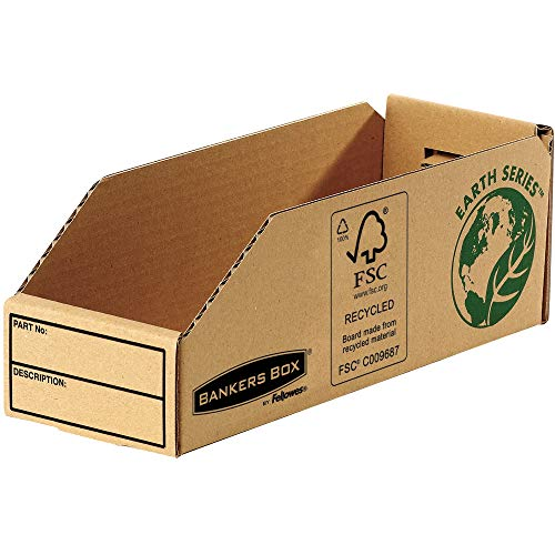 Bankers Box Earth Series Parts Bin, 98 mm - Pack of 50 from Fellowes