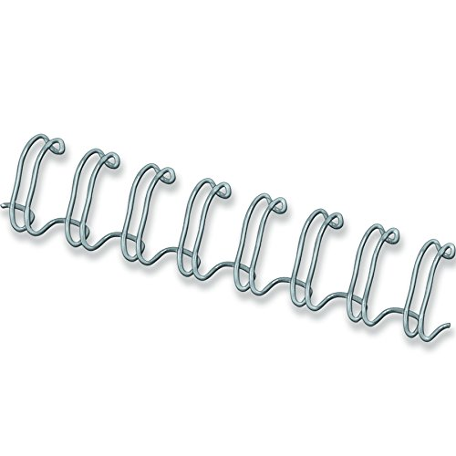 Fellowes 54453 Wire Binder Spine A4 12 mm Pack of 100 Silver from Fellowes