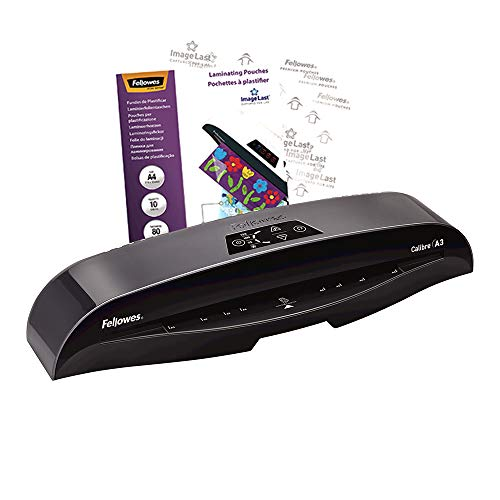 Fellowes 5740201 Calibre A3 Small Office Laminator 80-125 Micron - Black from Fellowes
