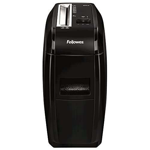 Fellowes Powershred 21Cs Personal 12 Sheet Cross Cut Paper Shredder for Home Use with SafeSense Technology from Fellowes