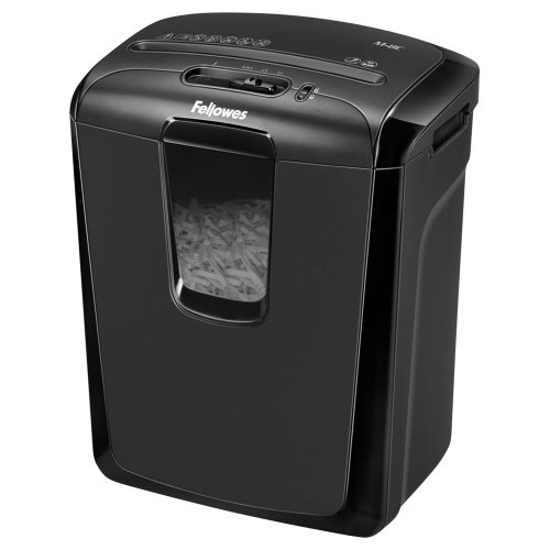 Fellowes Powershred M-8C 8 Sheet Cross Cut Personal Shredder With Safety Lock from Fellowes