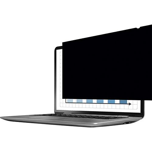Fellowes PrivaScreen Anti Glare Privacy Filter and Screen Protector for Laptop and Monitor, 19 Inches 5:4 Standard - Easy Attach and Removal with Quick Reveal Tabs, Black from Fellowes