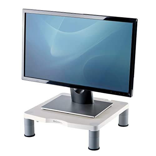 Fellowes Standard Adjustable Monitor Stand, White from Fellowes