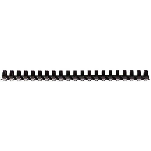 Fellowes 6202501 Value A4 19mm Binding Combs - Black (Pack of 100) from Fellowes