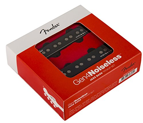Fender GEN 4 Noiseless Jazz Bass Pickup Set · Electric Bass Pickup from Fender