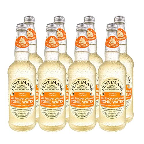 Fentimans Valencian Orange Tonic Water 500ml(Pack of 8) from Fentimans