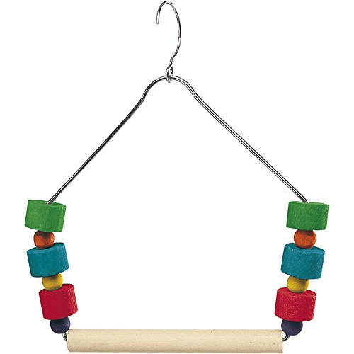 Ferplast Bird Wooden Swing & Colourful Beads 13x15cm from Ferplast