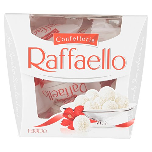 Ferrero Raffaello Chocolate Gift Box (1 x 150g, 15 Pieces) from Ferrero