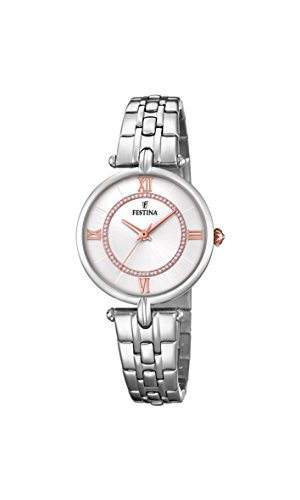 Festina Women's Analogue Quartz Watch with Stainless Steel Strap F20315/1 from Festina