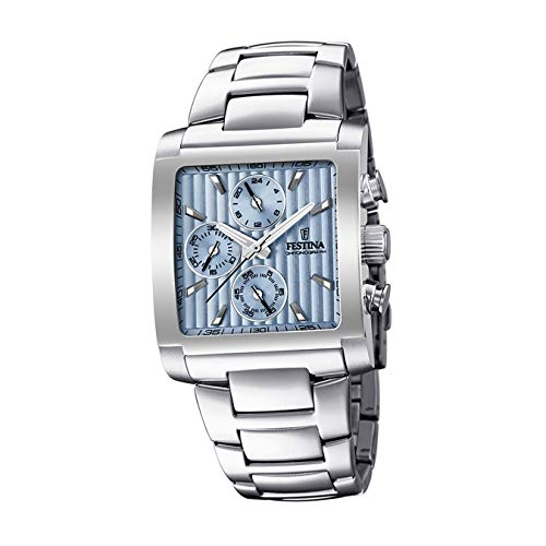 Festina Mens Chronograph Quartz Watch with Stainless Steel Strap F20423/1 from Festina