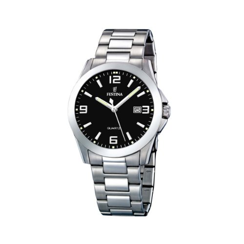 Festina Men's Watch F16376/4 With Steel Strap from Festina