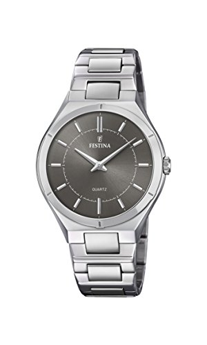 Festina Mens Analogue Classic Quartz Connected Wrist Watch with Stainless Steel Strap F20244/3 from Festina