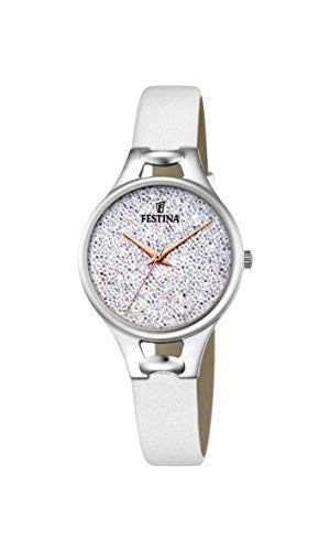 Festina Women's Analogue Quartz Watch with Leather Strap F20334/1 from Festina