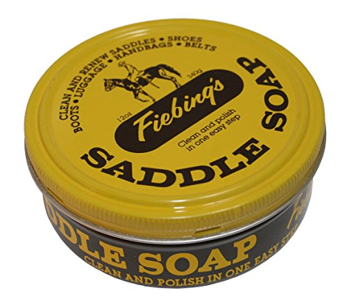 Fiebing's Saddle Soap, 3.5 oz, Yellow from Fiebing's