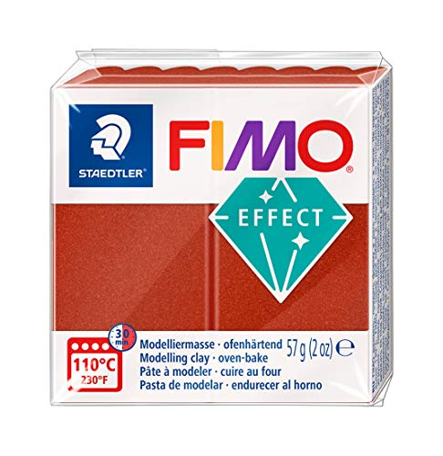 Fimo Effect Modelling Clay, Metallic Copper, 56/57 g from Fimo