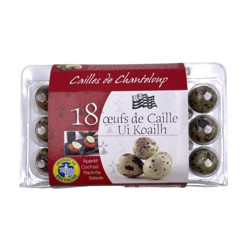 Quail's Eggs, Fresh, 3 x 18 Eggs from Fine Food Specialist