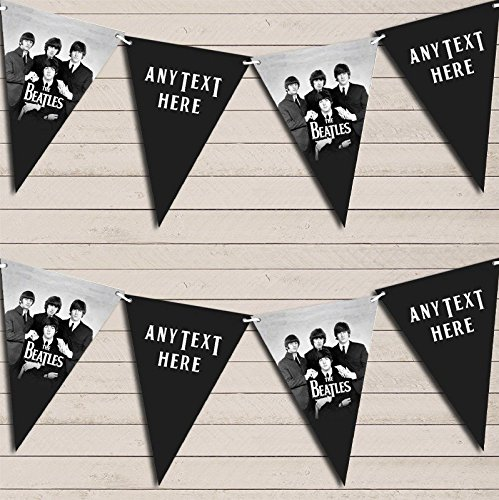 The Beatles Birthday Bunting Garland Party Banner from Fingerprint Designs