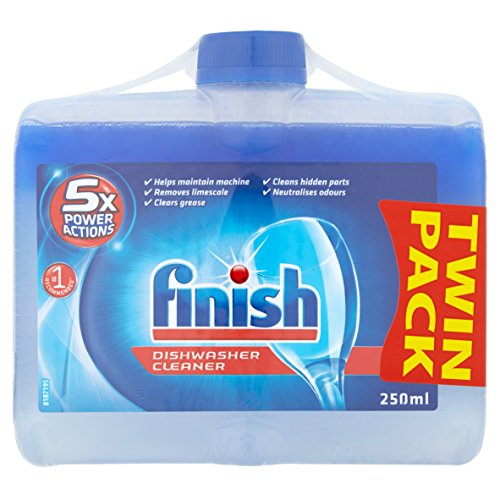 Finish Dishwasher Cleaner Twin Pack, 2 x 250ml from Finish