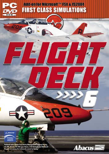 Flight Deck 6 - Add on for FS 2004/FSX (PC DVD) from First Class Simulations