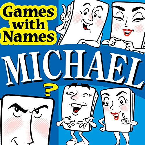 MICHAEL'S GAME: Stocking filler for men or boy or male called MICHAEL, MICK, MIKE etc (also secret santa or fun birthday or christmas party present or special xmas gift / present for the man who has everything !) from Games with Names