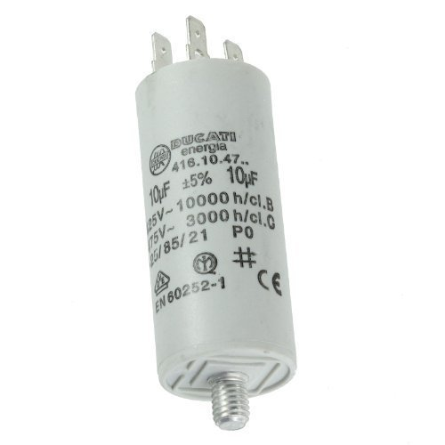 First4spares Universal Appliance Motor Start run Capacitor Microfarad 10UF (Spade Connector / Tags) from First4spares