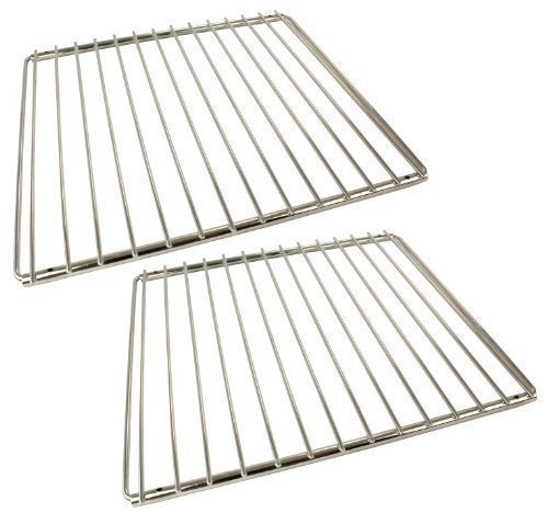 Universal Chrome Plated Adjustable Locking Arm Oven Cooker Shelves (Pack of 2) from First4spares