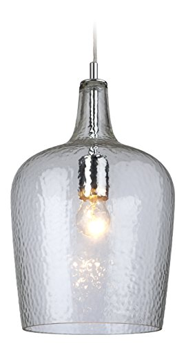 Firstlight 2301CL E27 Edison Screw 60 Watt Glass Pendant Light, Clear from Firstlight Products