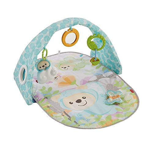 Fisher-Price Butterfly Dreams Musical Playtime Gym, New-born Baby Play Mat with Music, Colours, Textures and Sounds, Suitable from Birth from Fisher-Price