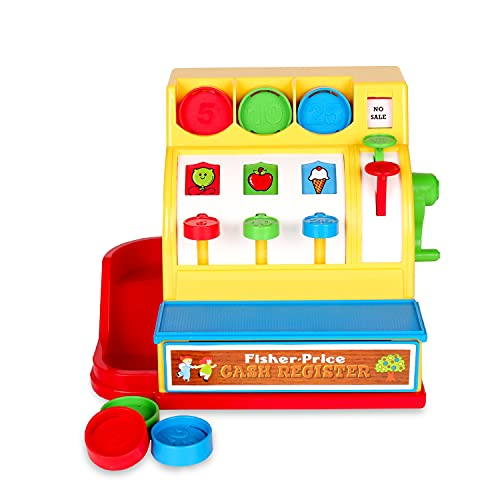 Fisher Price Classics 2073 Cash Register Toy from Fisher-Price