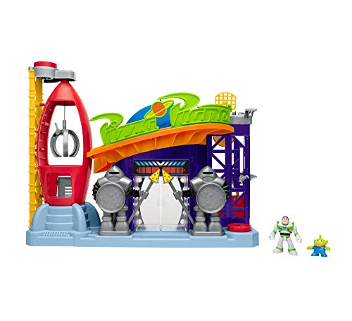 a64619c0efd Fisher-Price GFR96 Imaginext Disney Pixar Toy Story Pizza Planet Playset  with Buzz Lightyear from