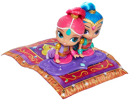Shimmer and Shine - DGL84 - Magic Flying Carpet Electronic Doll Playset - Fisher Price Nickelodeon Toy from Shimmer & Shine