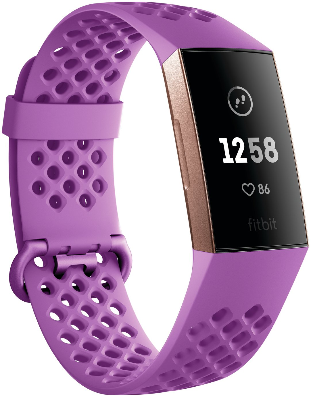 Fitbit Charge 3 Fitness Tracker - Berry from Fitbit
