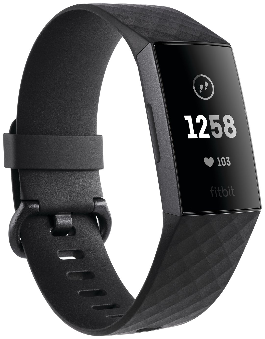 Fitbit Charge 3 Fitness Tracker - Graphite Black from Fitbit