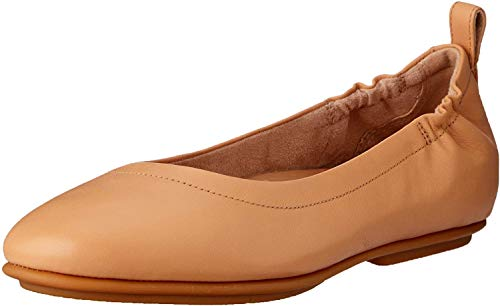 Fitflop Women's Allegro Closed Toe Ballet Flats, Blush 668, 7 UK 41 EU from Fitflop
