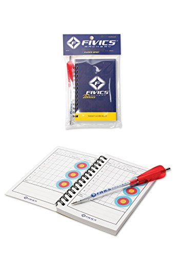 Fivics Archery Spiral Bound Score Book and Pen from Fivics