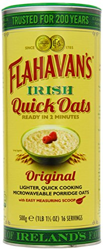 Flahavans Quick Oats Drum 500 g (Pack of 6) from Flahavans