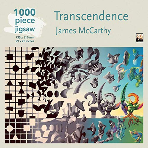 James McCarthy: Transcendence jigsaw: 1000 piece jigsaw (1000-piece jigsaws): 1000-piece Jigsaw Puzzles from Flame Tree Gift