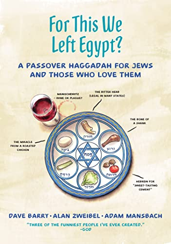 For This We Left Egypt?: A Passover Haggadah for Jews and Those Who Love Them from Macmillan USA