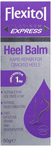 Flexitol Platinum Express Heel Balm, Rapid Repair for Cracked Heels and Dry Feet - 50 g from Flexitol