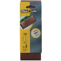 Flexovit 63642526464 Cloth Sanding Belts 75mm x 457mm 120G Fine - ... from Flexovit